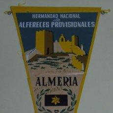 BANDERÍN MILITAR. ALFÉRECES PROVISIONALES HERMANDAD NACIONAL. ALMERÍA 1959. ALFÉREZ PROVISIONAL