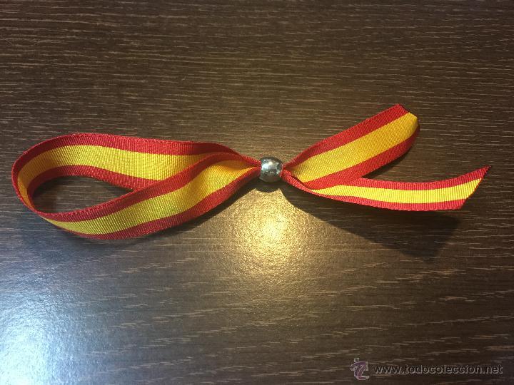 Pulsera tela bandera de espa a comprar reproducciones r plicas militares y objetos - Comprar tela online espana ...