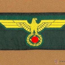 Militaria: AGUILA DE PECHO PARA CHAQUETA DE UNIFORME ALEMAN ARTILLERIA DE COSTA DE LA KRIEGSMARINE, 2ª G.M.. Lote 53980065