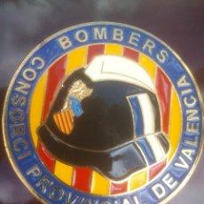 Militaria: METOPA BOMBEROS VALENCIA. Lote 54310772