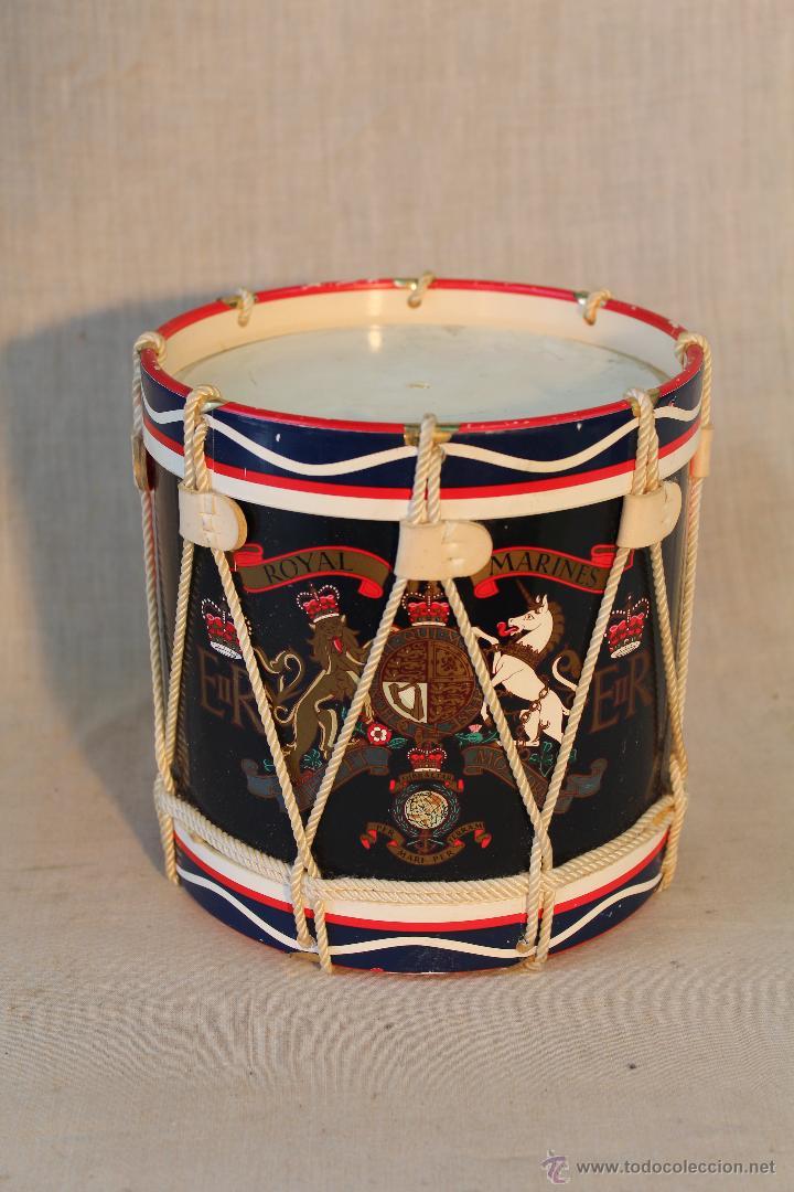 Militaria: caja tambor royal marines - Foto 2 - 54431920
