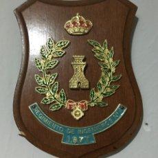 Militaria: METOPA PEQUEÑA DE INGENIEROS. REGIMIENTO N 4. Lote 68232547