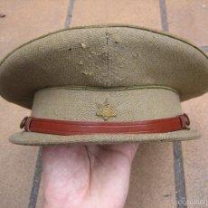 Militaria: RÉPLICA GORRA DE PLATO ALFÉREZ DEL EJÉRCITO NACIONAL. RECREACIÓN GUERRA CIVIL. Lote 55323571