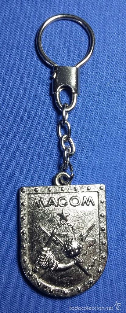 LLAVERO MACOM - MANDO AEREO DE COMBATE. (Militar - Reproducciones, Réplicas y Objetos Decorativos)