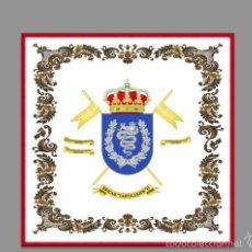 Militaria: AZULEJO 20X20 DE LA BRIGADA DE CABALLERIA CASTILLEJOS II. Lote 58325432