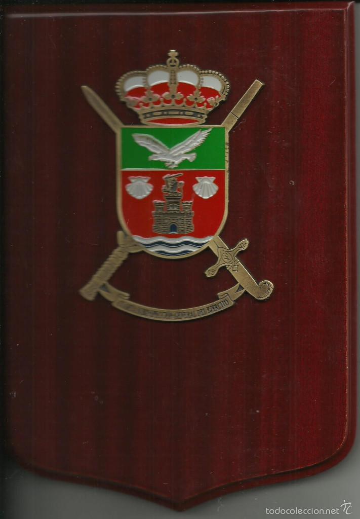 RARA METOPA DE LA CUARTA SUBINSPECCION GENERAL DEL EJERCITO DE 25 X 17,5 CM. (Militar - Reproducciones, Réplicas y Objetos Decorativos)