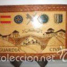 Militaria: METOPA ARTESANAL - GUARDIA CIVIL EN MOSTAR.. Lote 58639797