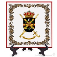 Militaria: AZULEJO 20X20 DE LA BRIGADA «REY ALFONSO XIII» II DE LA LEGIÓN. Lote 58640282