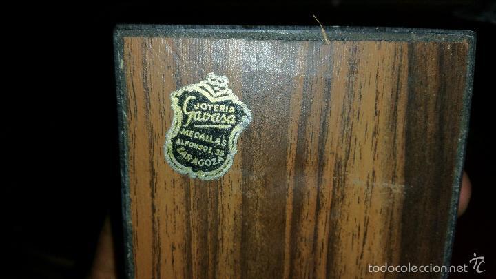 Militaria: METOPA O ESCULTURA CONMEMORATIVA DE LA ACADEMIA GENERAL DE OFICIALES ZARAGOZA XI PROMOCION - Foto 5 - 58883841