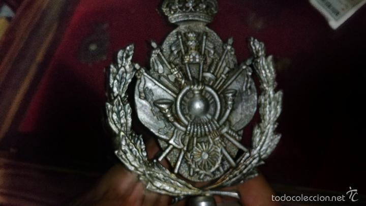 Militaria: METOPA O ESCULTURA CONMEMORATIVA DE LA ACADEMIA GENERAL DE OFICIALES ZARAGOZA XI PROMOCION - Foto 6 - 58883841