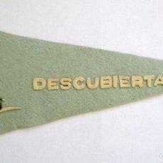 Militaria: BANDERIN DE LA CORBETA DESCUBIERTA EN FIELTRO. AÑOS 50-60. Lote 60353023