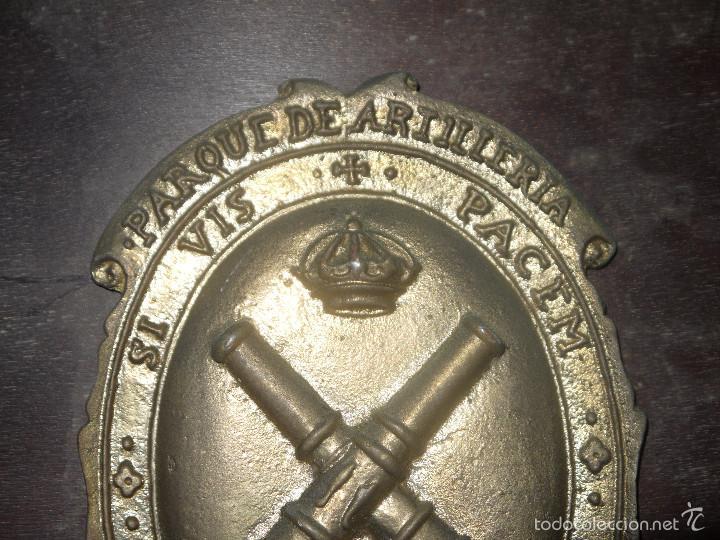 Militaria: METOPA PARQUE DE ARTILLERIA DE CEUTA, SI VIS PACEM PARA BELLVM, SI QUIERES LA PAZ PREPARA LA GUERRA. - Foto 6 - 60879163