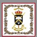 Militaria: AZULEJO 15X15 CON ESCUDO DE LA BRIGADA ALMOGÁVARES VI DE PARACAIDISTAS, BOP VI. Lote 168722181