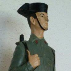 Militaria: ANTIGUA FIGURA MILITAR EPOCA DE FRANCO.. Lote 61676572