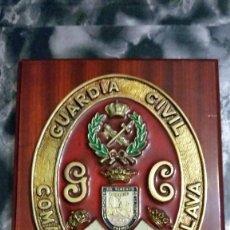 Militaria: METOPA GUARDIA CIVIL COMANDANCIA ALAVA. Lote 62016836