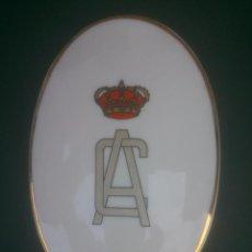 Militaria: PORCELANA ACADEMIA DE CABALLERIA. Lote 62030648
