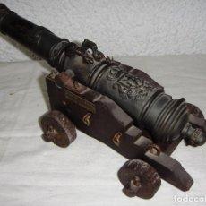 Militaria: REPLICA DE CAÑÓN DE MARINA DE 1882. ESCUDO DE HÉRCULES. CADIZ. RAMO ARTILLERIA. ARSENAL CARRACA.. Lote 62375984
