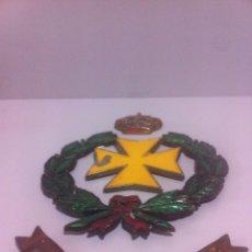 Militaria: METOPA SIN MADERA HOSPITAL CENTRAL GOMEZ ULLA. Lote 63334248
