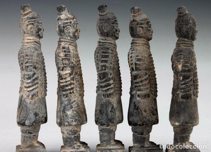Militaria: 5 guerreros de terracota del emperador Qin Shihuang. Artículo actual. - Foto 8 - 76845533