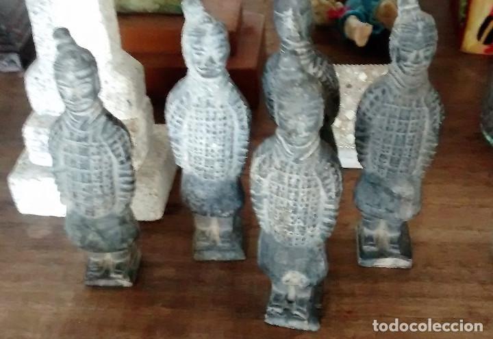 Militaria: 5 guerreros de terracota del emperador Qin Shihuang. Artículo actual. - Foto 9 - 76845533