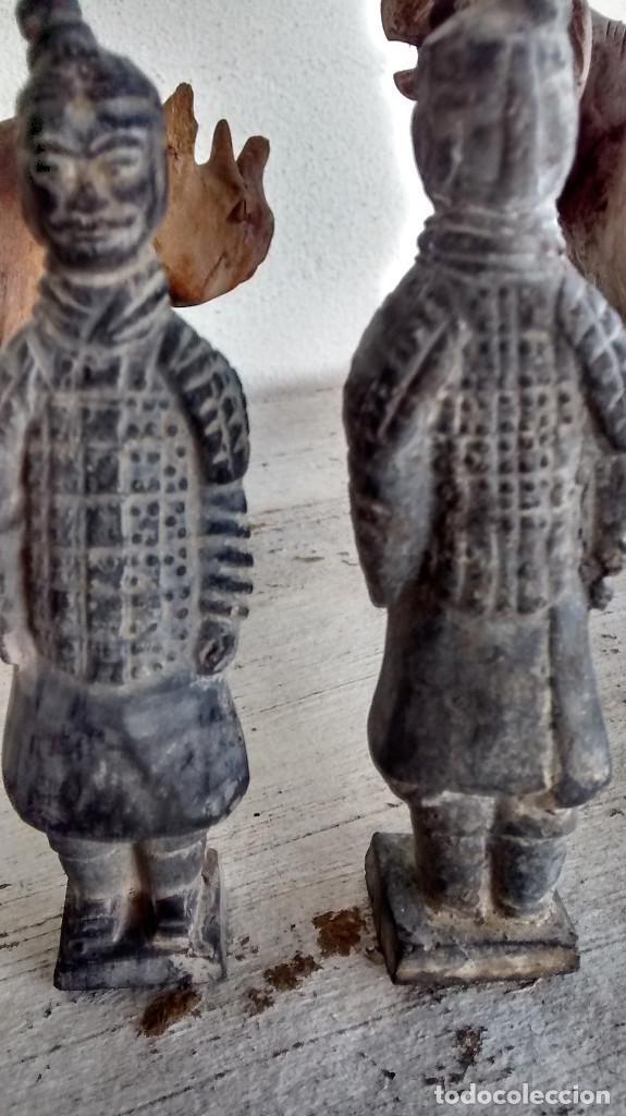 Militaria: 5 guerreros de terracota del emperador Qin Shihuang. Artículo actual. - Foto 11 - 76845533