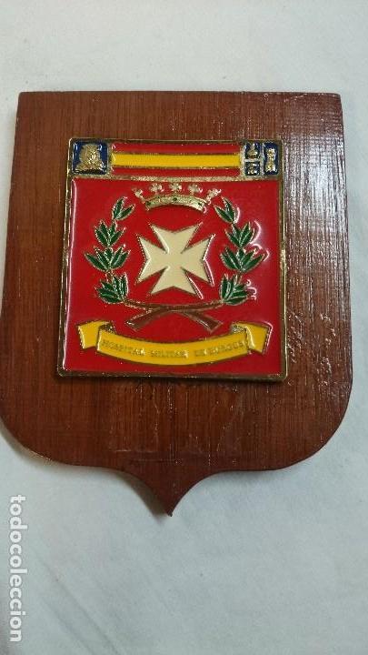 METOPA HOSPITAL MILITAR DE BURGOS (Militar - Reproducciones, Réplicas y Objetos Decorativos)