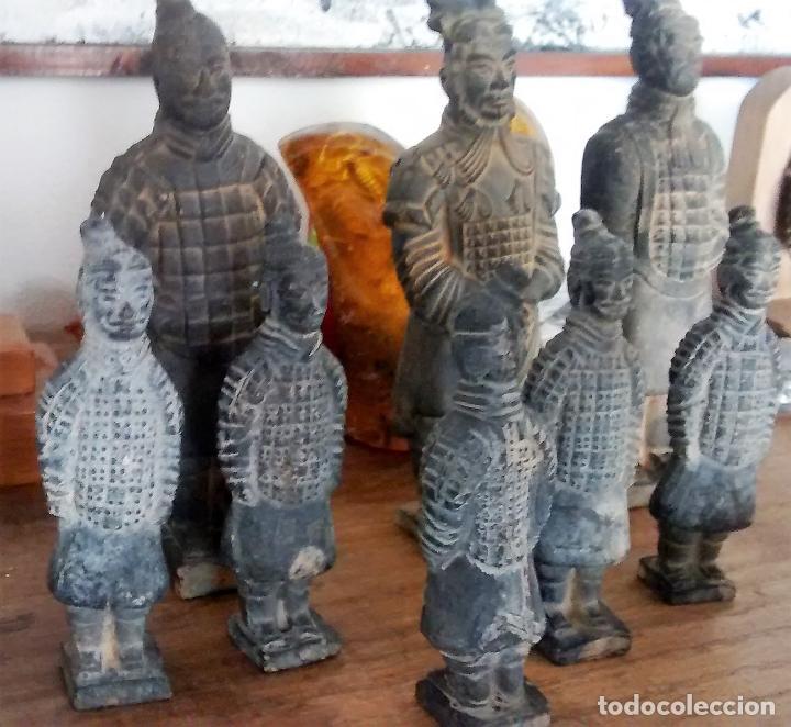 Militaria: 5 guerreros de terracota del emperador Qin Shihuang. Artículo actual. - Foto 12 - 76845533