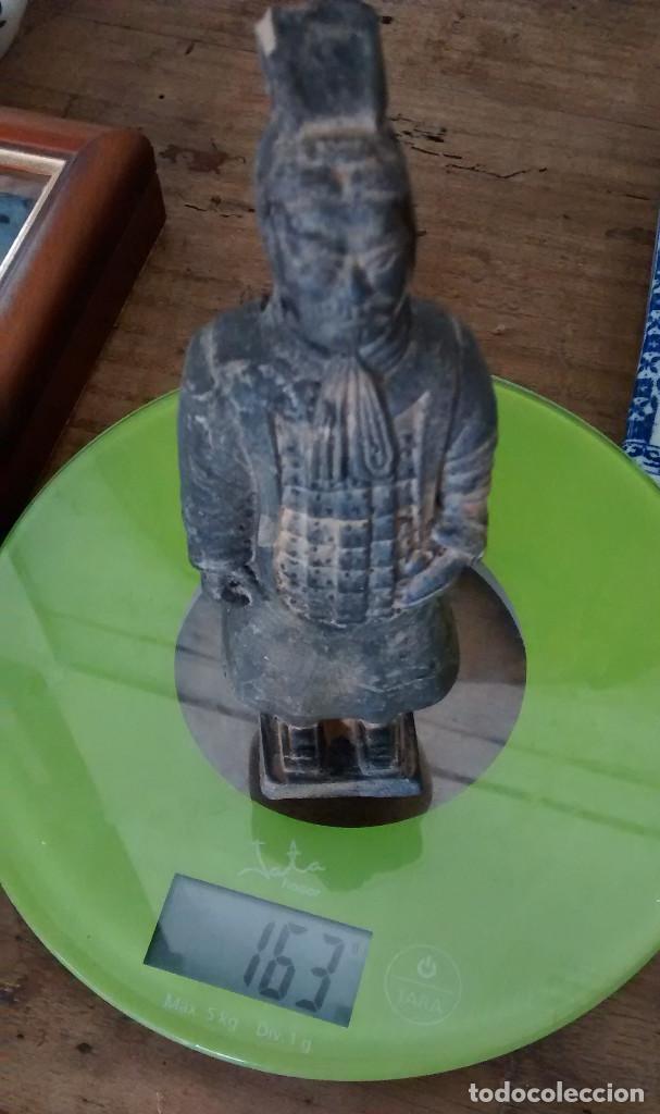 Militaria: 3 Guerreros terracota del emperador Qin Shihuang. Tamaño grande. - Foto 4 - 144797457