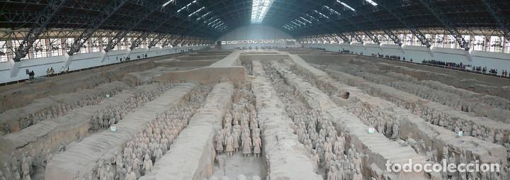 Militaria: 3 Guerreros terracota del emperador Qin Shihuang. Tamaño grande. - Foto 8 - 144797457