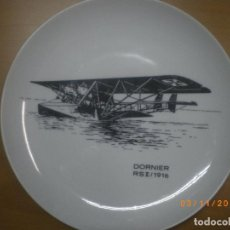 Militaria: PLATO AVION ALEMAN 1ª GM, AVIACION. Lote 66882946