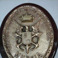 Militaria: ANTIGUA METOPA MILITAR. CENTRO PROVINCIAL DE RECLUTAMIENTO - MURCIA. . Lote 67696401