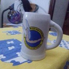 Militaria: JARRA DE CERAMICA. PORTAHELICOPTEROS DEDALO.. Lote 70357749