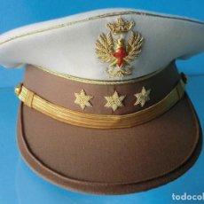 Militaria: GORRA DE PLATO DE CAPITÁN DE TIRADORES DE IFNI DE VERANO. Lote 71545299