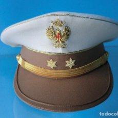 Militaria: GORRA DE PLATO DE TENIENTE DE TIRADORES DE IFNI DE VERANO. Lote 71545995