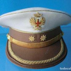 Militaria: GORRA DE PLATO DE TENIENTE CORONEL DE TIRADORES DE IFNI DE VERANO . Lote 71549939