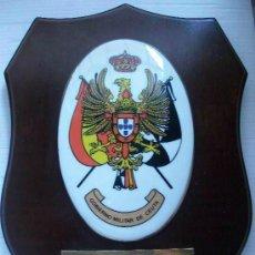 Militaria: METOPA DEL GOBIERNO MILITAR DE CEUTA . DEDICADA 1989 ... 20 X 25 CM. Lote 71695811