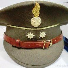 Militaria: GORRA DE PLATO DE TENIENTE CORONEL DE ARTILLERIA. Lote 72201271