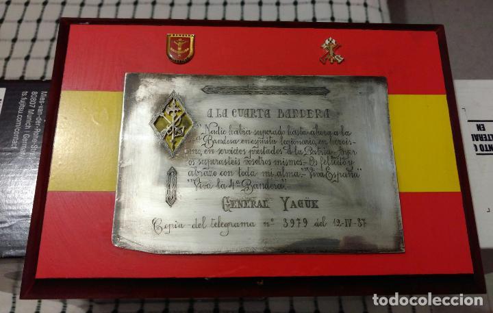 Metopa de la legión española, telegrama felicit - Vendido en Venta ...