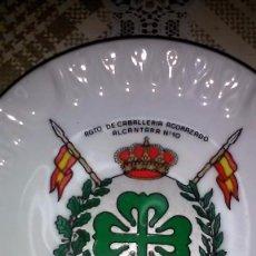 Militaria: CENICERO REGIMIENTO DE CABALLERIA ACORAZADO ALCATARA Nº 10.. Lote 76647899