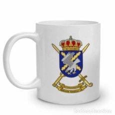 Militaria: TAZA DE CERÁMICA CON EMBLEMA DE LA BRIGADA GALICIA VII, BOP VII. Lote 77753819