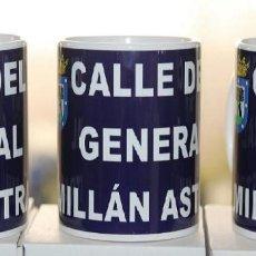 Militaria: TAZAS DEL GENERAL MILLAN ASTRAY. Lote 77584605