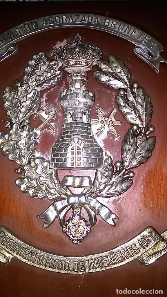 METOPA DIVISIÓN ACORAZADA BRUNETE 1º. (Militar - Reproducciones, Réplicas y Objetos Decorativos)