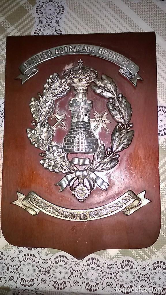 Militaria: METOPA DIVISIÓN ACORAZADA BRUNETE 1º. - Foto 2 - 194226368