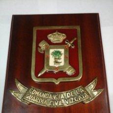Militaria: METOPA GUARDIA CIVIL. COMANDANCIA DE LA GUARDIA CIVIL-VIZCAYA. . Lote 78418673