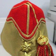 Militaria: GORRO DE BARCO DE TENIENTE DE REGULARES. Lote 78637157