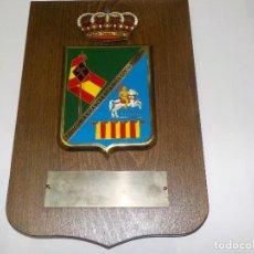 Militaria: ANTIGUA METOPA. GUARDIA CIVIL. 422ª COMANDANCIA GUARDIA CIVIL - HUESCA. Lote 79576213