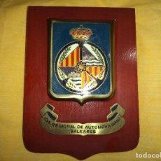Militaria: METOPA CIA REGIONAL DE AUTOMOVILISMO BALEARES. Lote 79648101