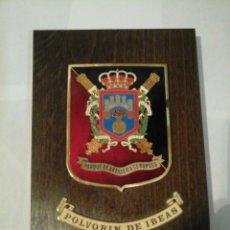 Militaria - Metopa militar. Polvorin de Ibeas - Parque de Artilleria de Burgos. - 81990656