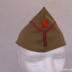 Militaria: GORRILLO SARGENTO EJÉRCITO POPULAR. TALLA GRANDE. BBII, REPÚBLICA, GUERRA CIVIL. Lote 83658244