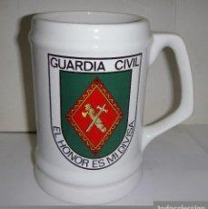 Militaria: JARRA DE COLECCIÓN. CERÁMICA. GUARDIA CIVIL. EL HONOR ES MI DIVISA.. Lote 84866752